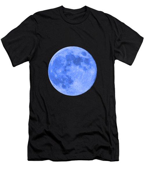 Blue Moon .png Men's T-Shirt (Athletic Fit)