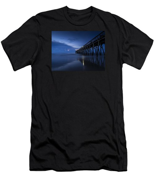 Blue Morning Men's T-Shirt (Athletic Fit)