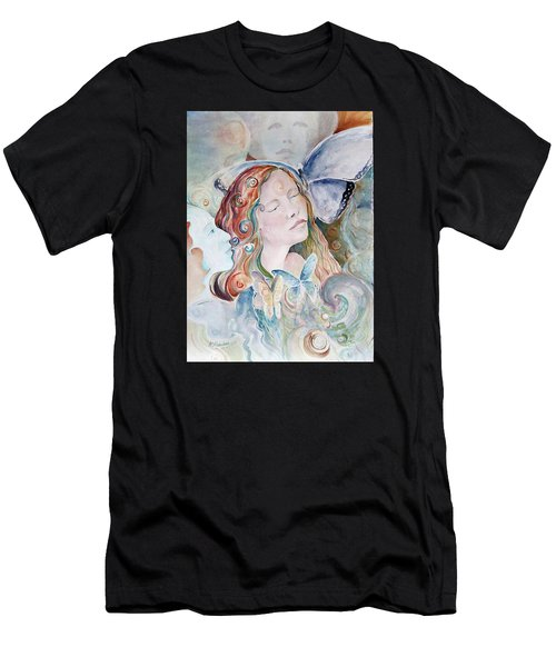 Blue Morpho Men's T-Shirt (Athletic Fit)