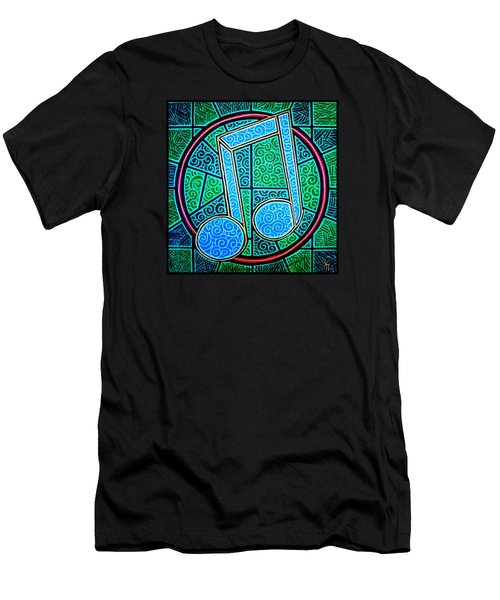 Blue Note Men's T-Shirt (Slim Fit) by Jim Harris