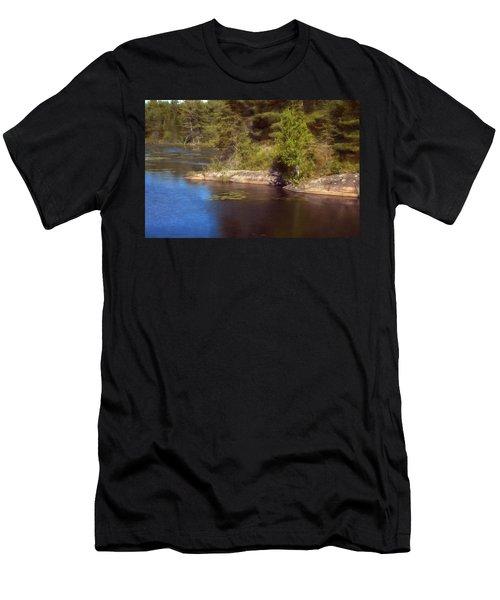 Blue Pond Marsh Men's T-Shirt (Athletic Fit)