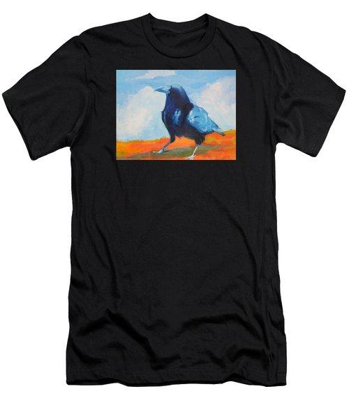 Blue Raven Men's T-Shirt (Athletic Fit)