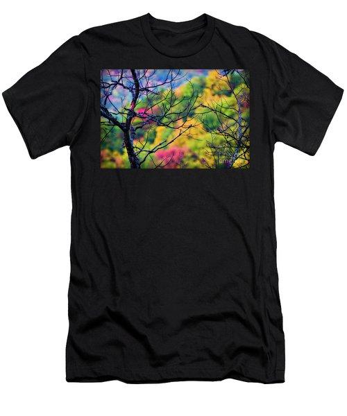 Blue Ridge Autumn Men's T-Shirt (Athletic Fit)