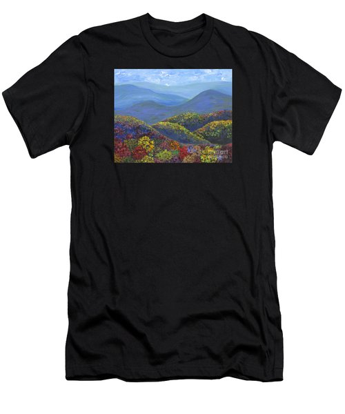 Blue Ridge Colors				 Men's T-Shirt (Athletic Fit)