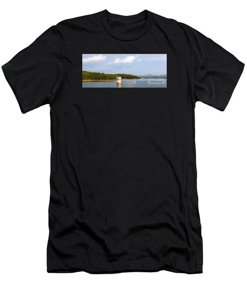 Blue Ridge Dam Men's T-Shirt (Athletic Fit)