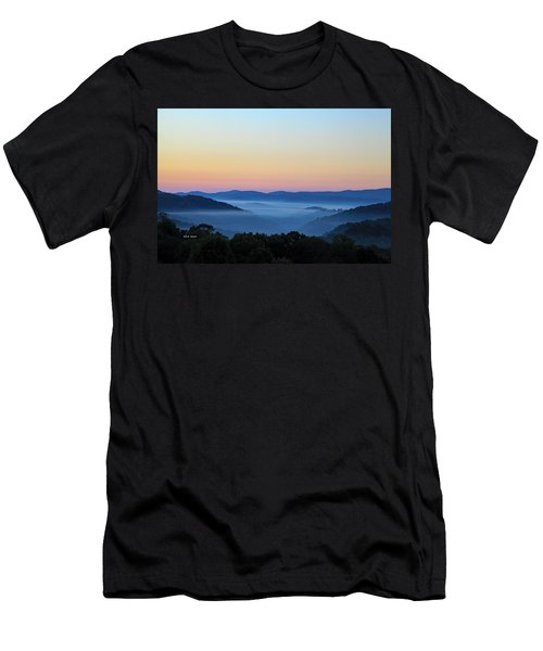 Blue Ridge Dawn Men's T-Shirt (Slim Fit) by Dale R Carlson