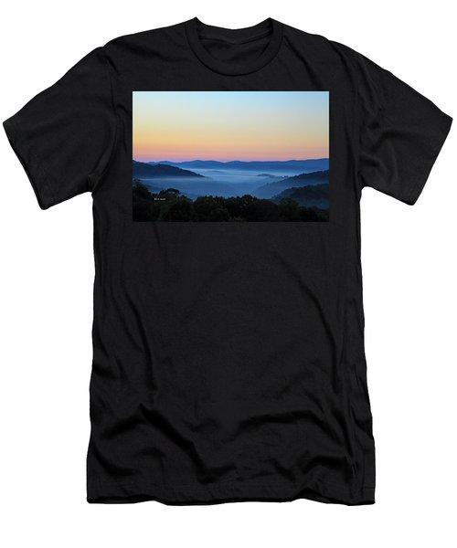 Blue Ridge Dawn Men's T-Shirt (Athletic Fit)