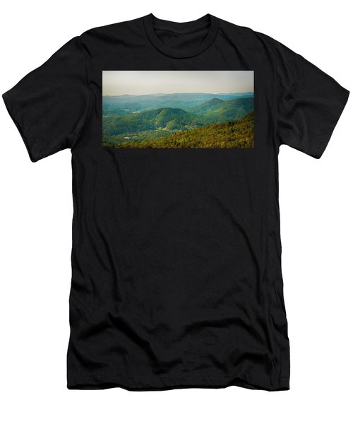 Blue Ridge Mountains Men's T-Shirt (Athletic Fit)