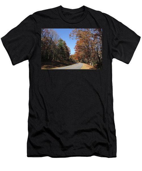Blue Ridge Parkway Men's T-Shirt (Athletic Fit)