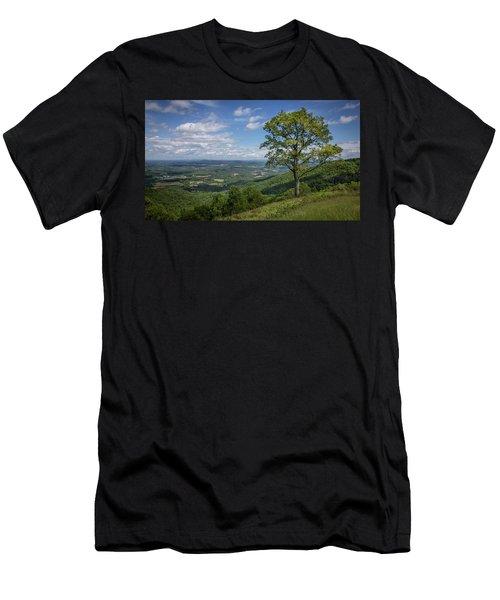 Blue Ridge Parkway Scenic View Men's T-Shirt (Athletic Fit)