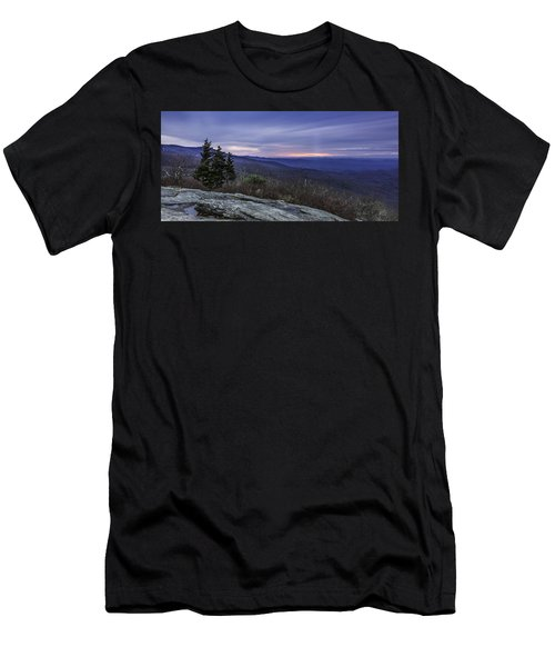 Blue Ridge Parkway Sunrise Men's T-Shirt (Athletic Fit)