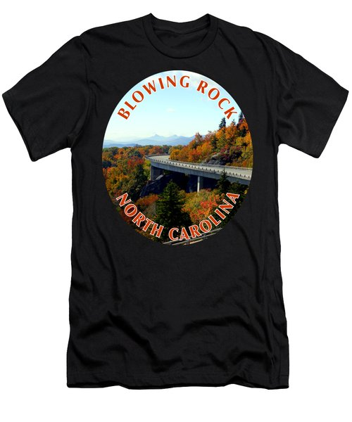 Blue Ridge Parkway T-shirt Men's T-Shirt (Athletic Fit)