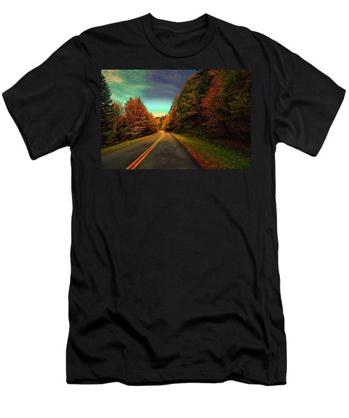 Blue Ridge Pkwy Men's T-Shirt (Athletic Fit)