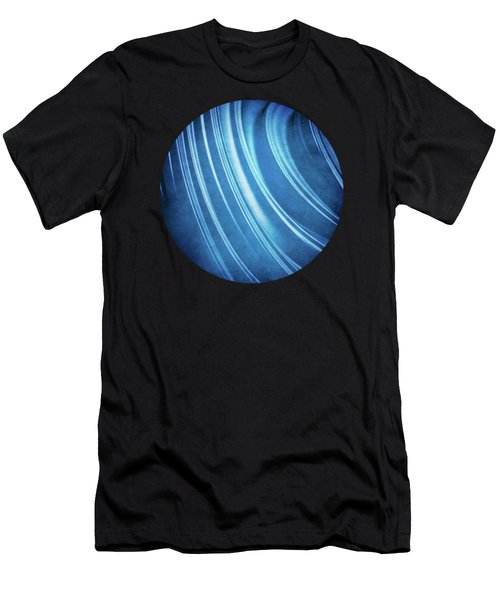 Blue Ridges Fractal Men's T-Shirt (Athletic Fit)