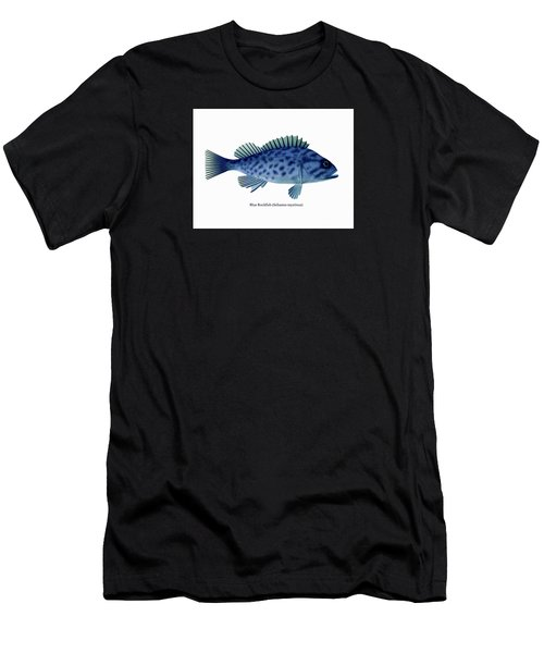 Blue Rockfish Men's T-Shirt (Athletic Fit)