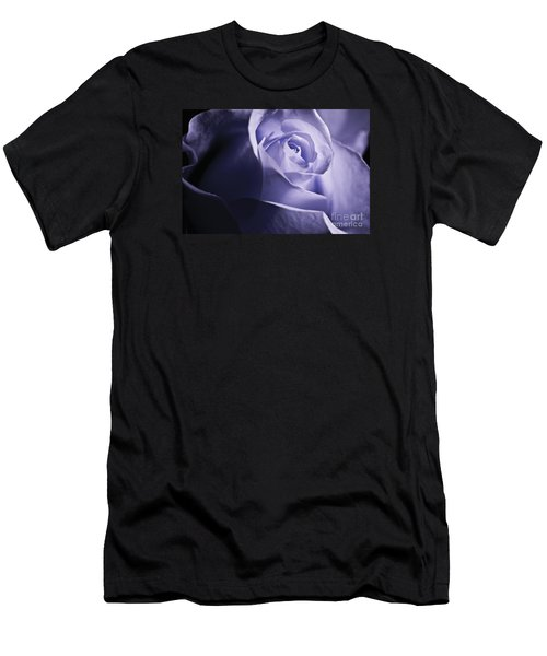 Blue Rose Men's T-Shirt (Slim Fit) by Micah May