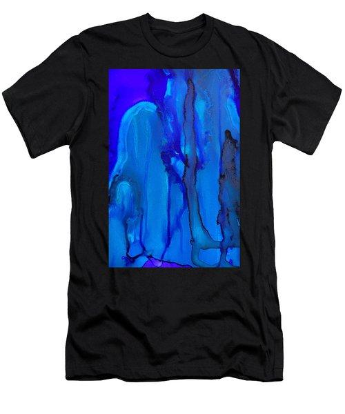 Blue Series  Men's T-Shirt (Athletic Fit)