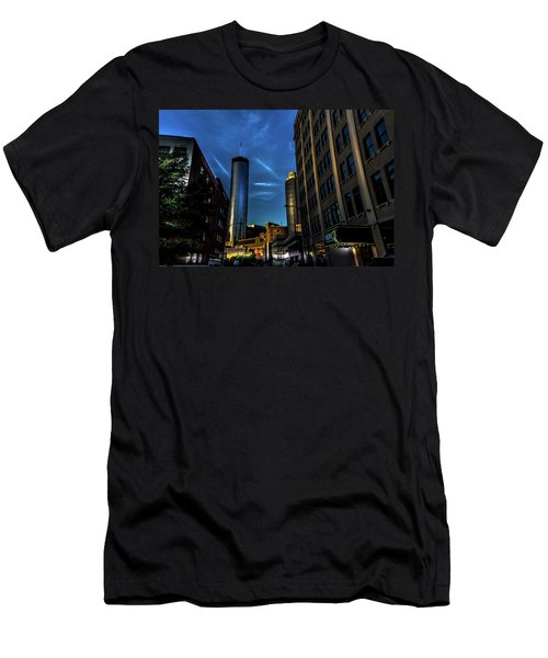 Blue Skies Above Men's T-Shirt (Athletic Fit)