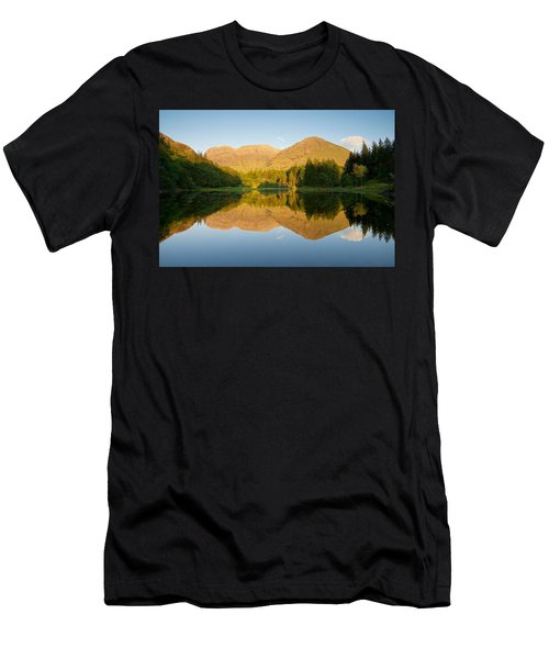 Blue Skies At Torren Lochan Men's T-Shirt (Athletic Fit)