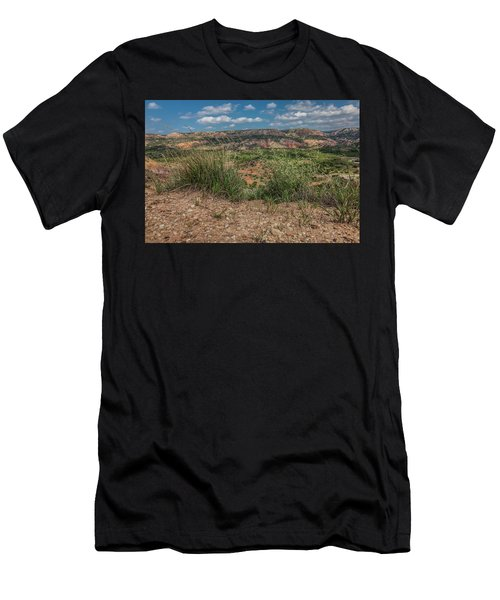 Blue Skies Over Palo Duro Canyon Men's T-Shirt (Athletic Fit)