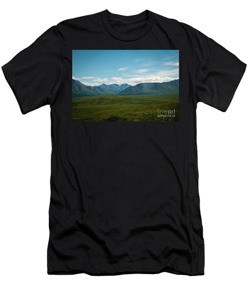 Blue Sky Mountians Men's T-Shirt (Athletic Fit)