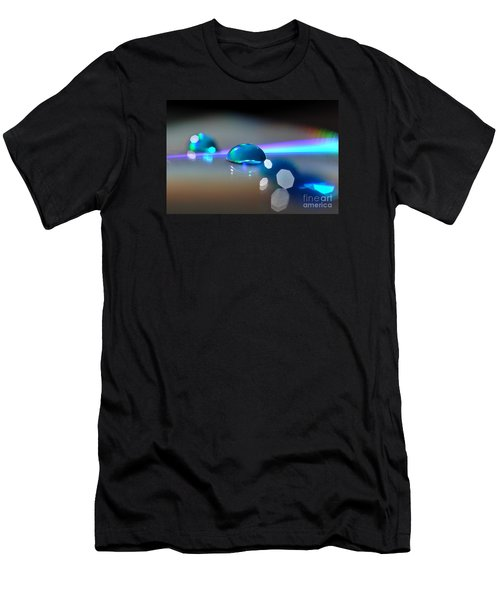 Blue Sparks Men's T-Shirt (Athletic Fit)