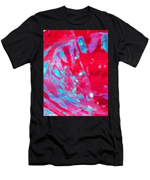 Blue Splash Men's T-Shirt (Athletic Fit)