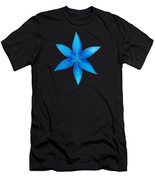 Blue Star  Men's T-Shirt (Athletic Fit)