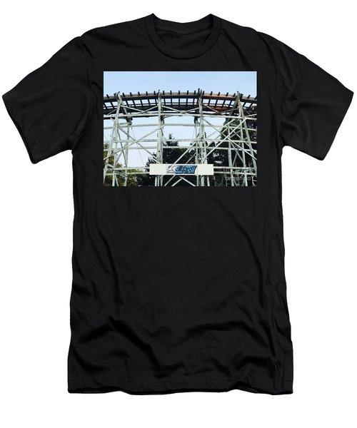 Blue Streak Men's T-Shirt (Athletic Fit)