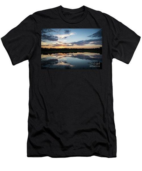 Blue Sunset Men's T-Shirt (Athletic Fit)