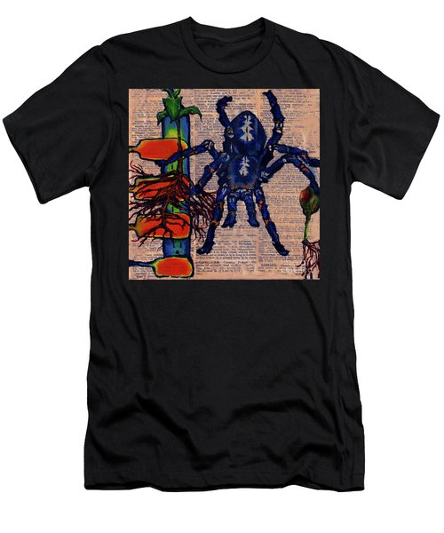 Blue Tarantula Men's T-Shirt (Athletic Fit)
