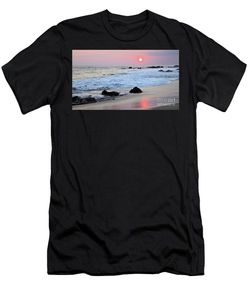 Men's T-Shirt (Athletic Fit) featuring the photograph Blue Tides by Victor K