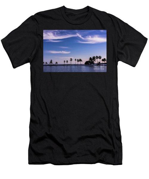 Blue Tropics Men's T-Shirt (Athletic Fit)