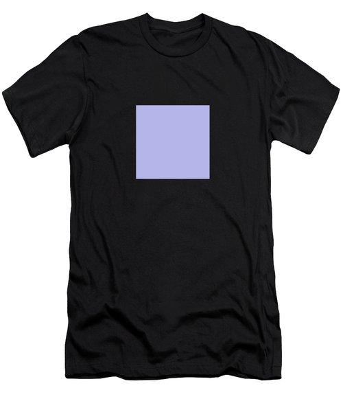 Blue Ultra Soft Lavender Colour Palette Men's T-Shirt (Athletic Fit)