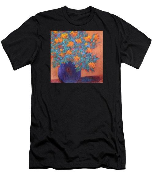 Blue Vase Men's T-Shirt (Athletic Fit)