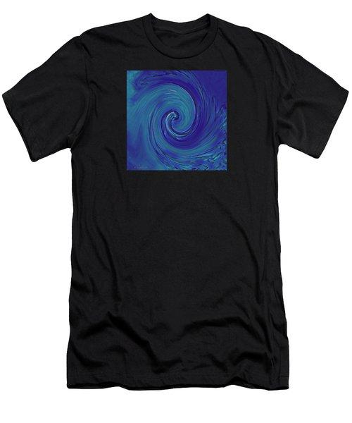 Blue Wave Men's T-Shirt (Athletic Fit)