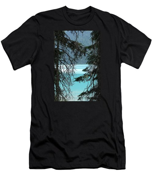Men's T-Shirt (Slim Fit) featuring the photograph Blue Whisper by Al Fritz
