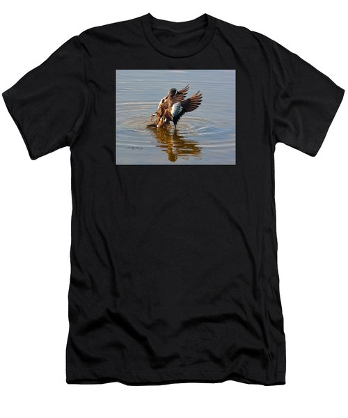 Blue Winged Teal 2 Men's T-Shirt (Athletic Fit)