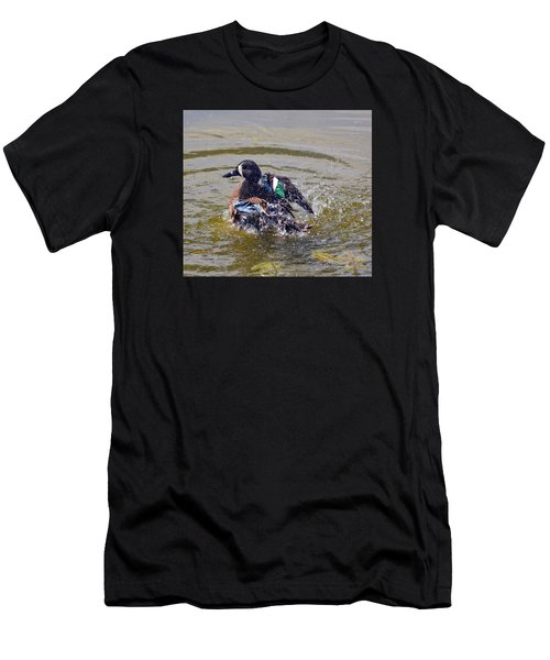 Blue Winged Teal 5 Men's T-Shirt (Athletic Fit)