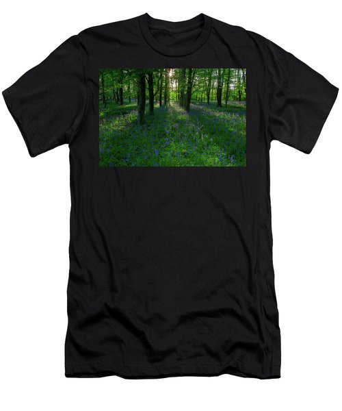 Bluebells In Oxey Woods Men's T-Shirt (Athletic Fit)