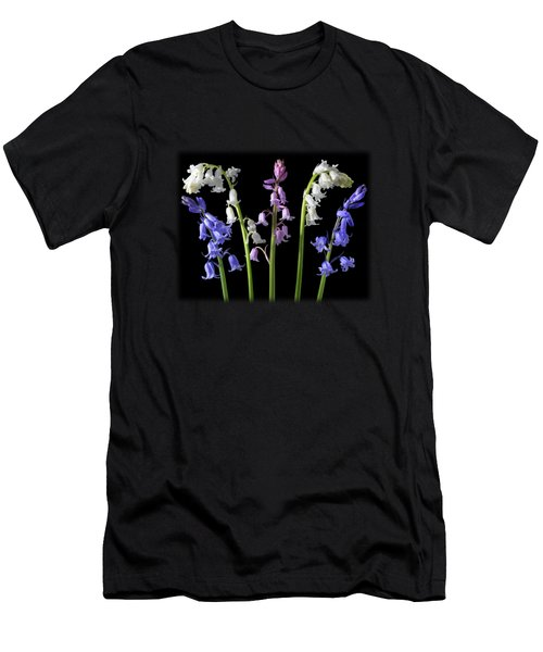 Bluebells Whitebells Pinkbells Men's T-Shirt (Athletic Fit)
