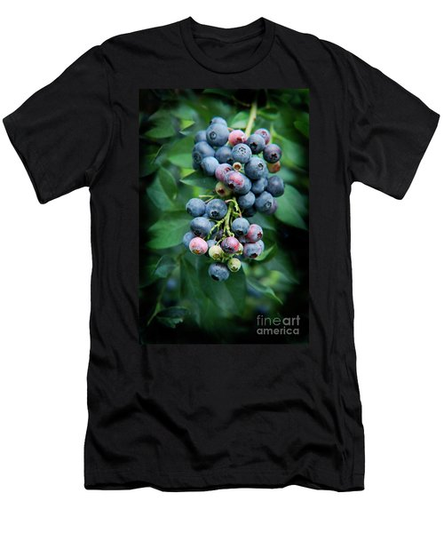 Blueberry Cluster Men's T-Shirt (Athletic Fit)