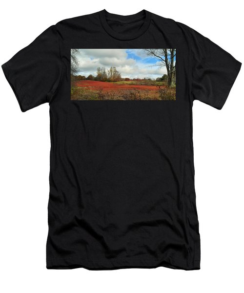 Blueberry Fields Men's T-Shirt (Athletic Fit)
