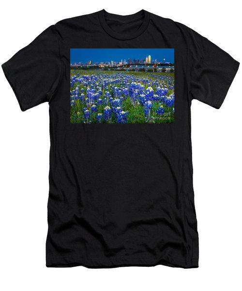 Bluebonnets In Dallas Men's T-Shirt (Athletic Fit)