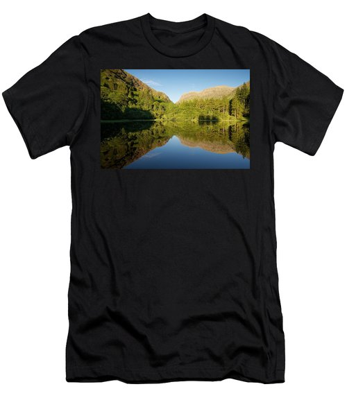 Blues Skies In Glencoe Men's T-Shirt (Athletic Fit)