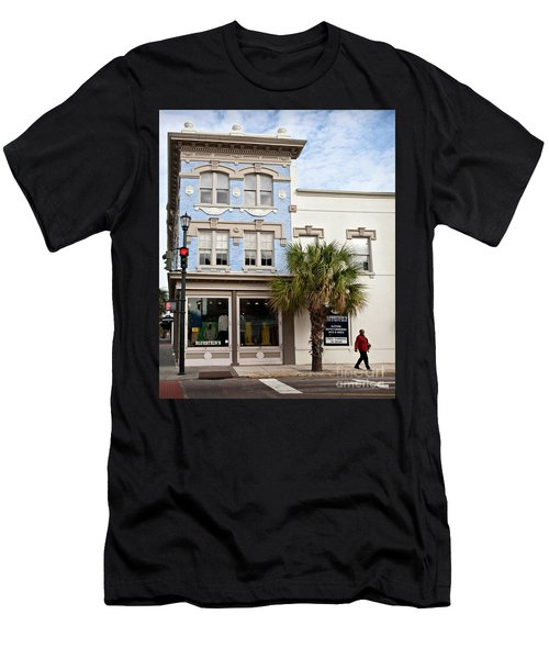 Bluesteins Menswear Charleston Sc  -7434 Men's T-Shirt (Athletic Fit)
