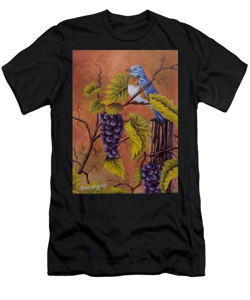 Bluey And The Grape Vine Men's T-Shirt (Athletic Fit)