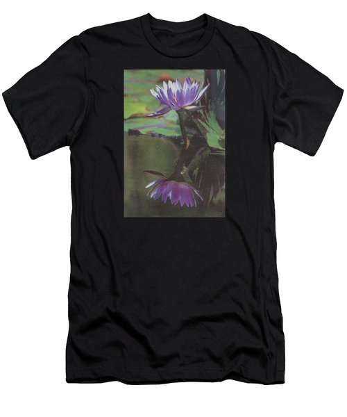 Blush Of Purple Men's T-Shirt (Athletic Fit)