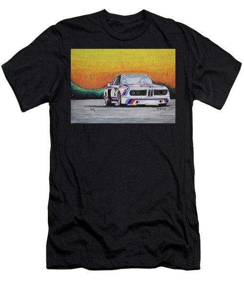 Bmw E9 Race Car Men's T-Shirt (Athletic Fit)