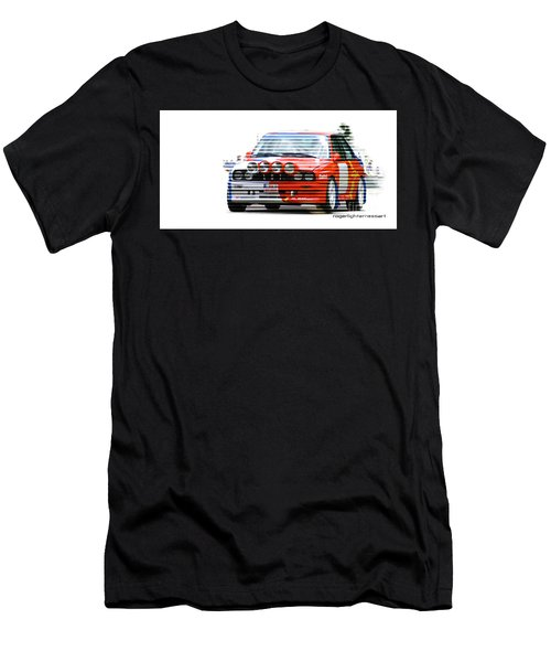 Bmw M3 Group A Men's T-Shirt (Athletic Fit)